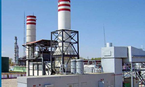 化工厂生产天然气发电站案例